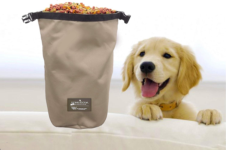 The Humane Society Nylon Self Folding Travel Food Bag