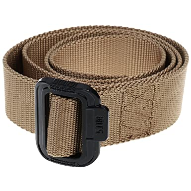 Generic Women's Nylon and Alloy Military Tactical Rappelling Belt (Brown,  Medium)