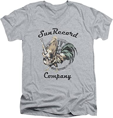 Sun Records ROCKING ROOSTER Licensed Adult T-Shirt All Sizes