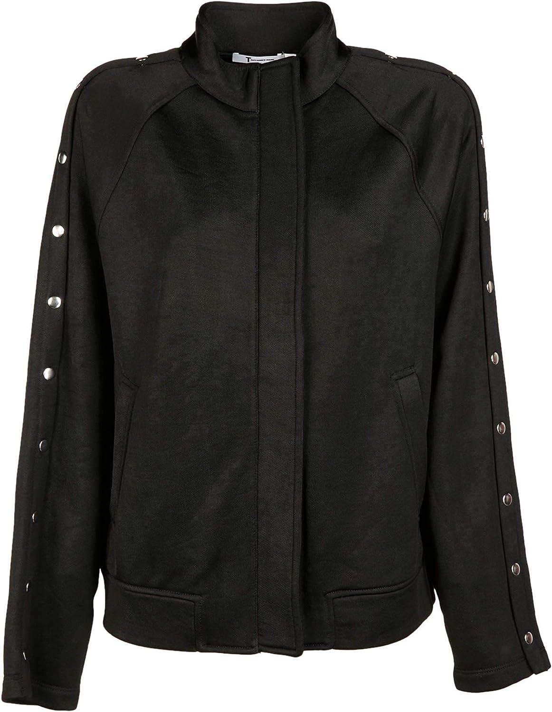 Alexander Wang Luxury Fashion Womens 4C372000C1001 Black Jacket Season Outlet