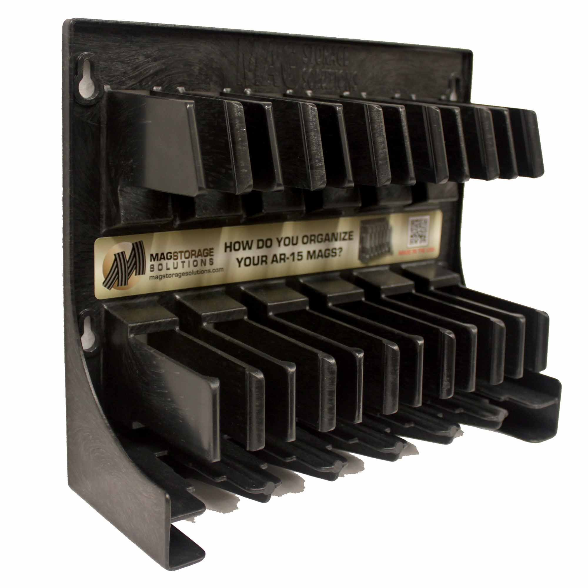 Mag Storage Solutions 5.56 .223 MagHolder Magazine Holder Storage Rack Magpul by MagStorage Solutions (Image #2)