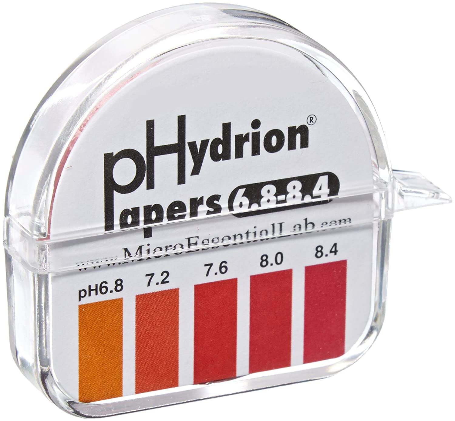 Lamotte 2907 ph test paper phenol red 68 84ph range 02ph lamotte 2907 ph test paper phenol red 68 84ph range 02ph sensitivity ph test strips amazon industrial scientific geenschuldenfo Image collections