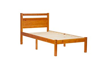 100% Solid Wood Bronx Twin Bed-in-a-Box by Palace Imports
