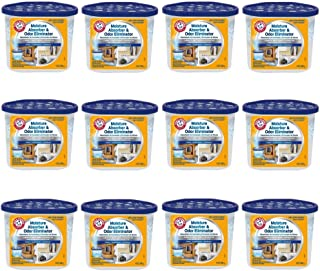 product image for Arm & Hammer FGAH14 14 Moisture Absorber & Max Odor Eliminator Tub, 14 oz (12 pack)