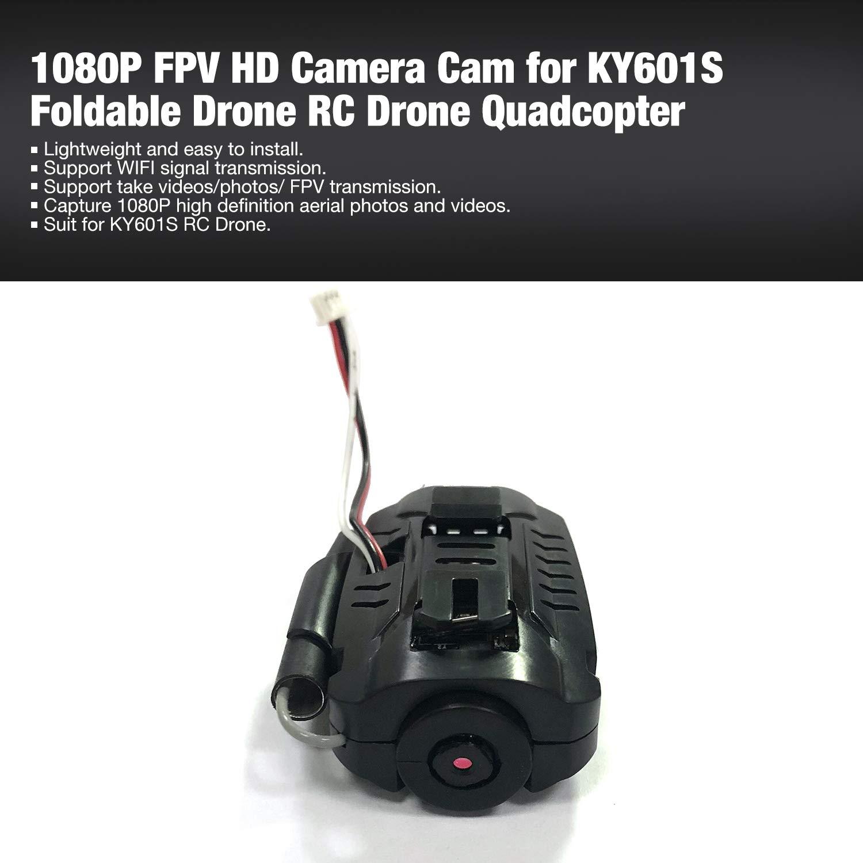 1080P FPV HDカメラカメラ KY601S 折りたたみ式ドローン RCドローン クアッドコプター用 B07L49GT47