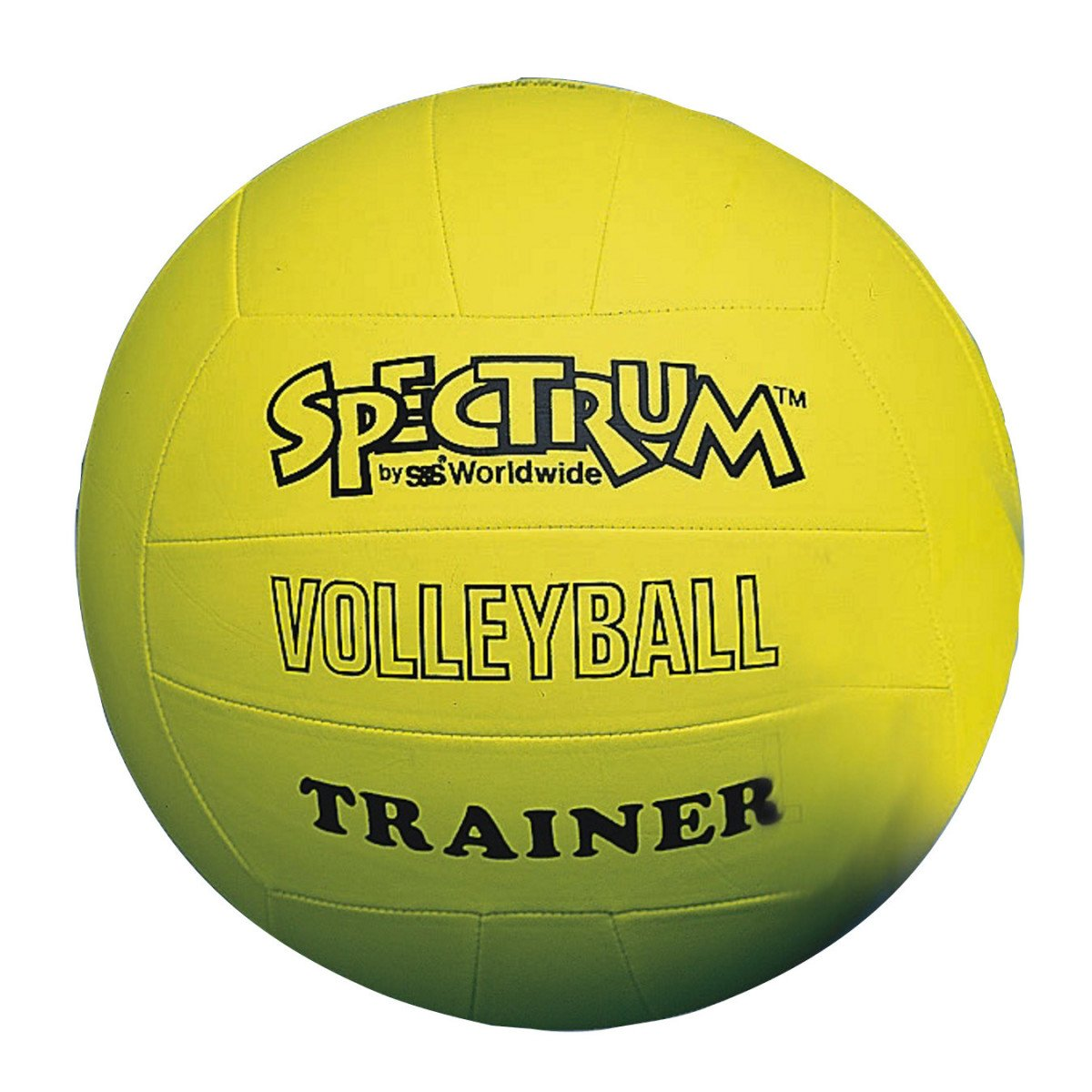 S&S Worldwide Spectrum Volleyball Trainer, Yellow - Oversize