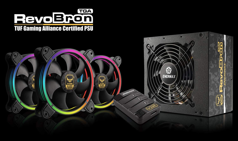 ERB500AWT TR Enermax RevoBron TGA 500W Power Supply Grey Camo