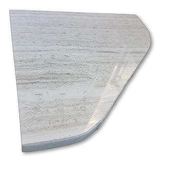 Amazoncom New 8 Marble Shower Corner Shelf Soap Dish Grey