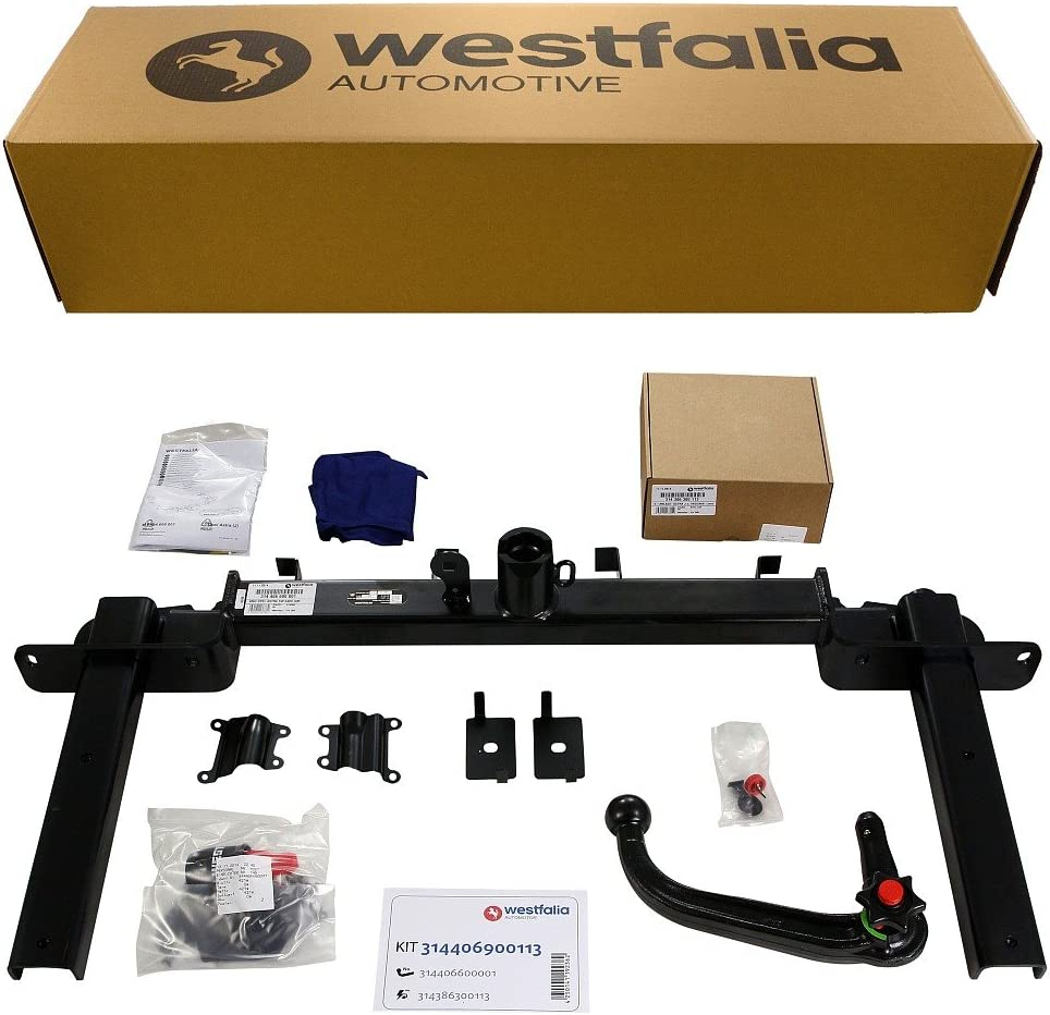 Westfalia Abnehmbare Anhängerkupplung Für Opel Astra J Sports Tourer Bj 11 2010 01 2016 Im Set Mit 13 Poligem Fahrzeugspezifischen Westfalia Elektrosatz Auto