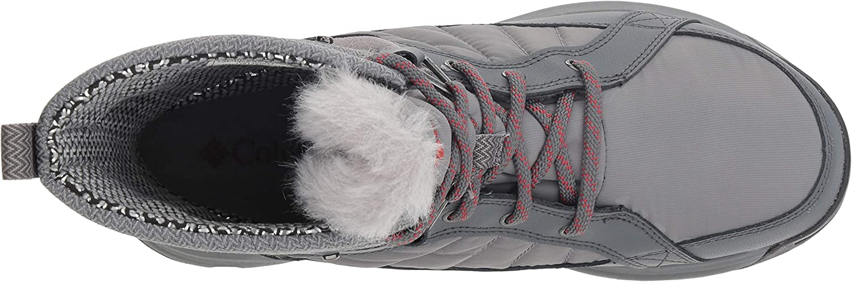 Columbia Meadows Shorty Omni-heat 3d, Botas De Nieve Para Mujer Gris Ti Grey Steel Marsala Red 033