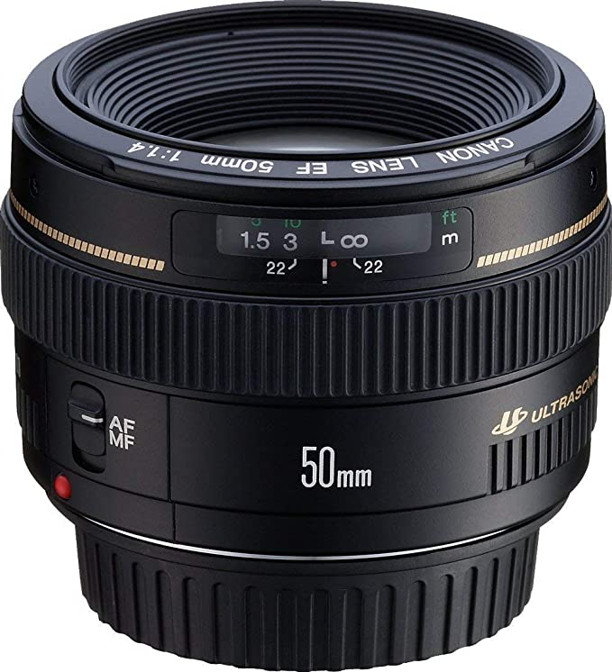 Canon EF 50mm f/1.4 USM - Objetivo para Canon (distancia focal ...