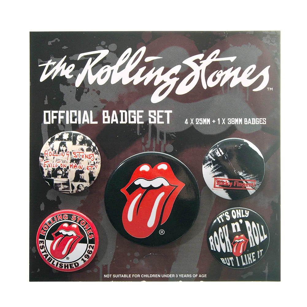 Pack De Badges/Pins The Rolling Stones n°2