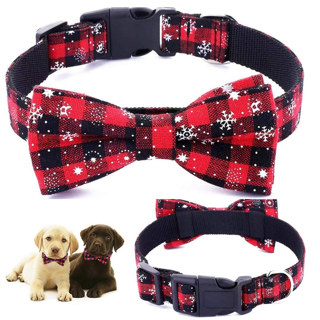 Dog Cat Collar | Dog Cat Bow Ties | Dog Collar | Cat Collar | Pet Gift | Christmas Pet Collar | Dog Bowtie Christmas | Red Colour |Collar Length 13.5"|1080|1080|?|d84f72a167cc6ad7c60945c04019ba8a|True|False|UNLIKELY|0.332773357629776