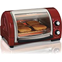 Hamilton Beach 31334 Easy Reach Toaster Oven, Metallic