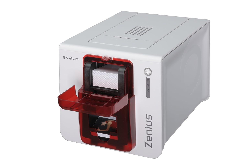 Evolis, Zenius clásico impresora, sola cara, sin opción, USB ...