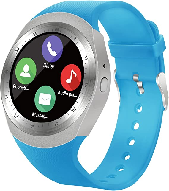 SEPVER Smart Watch SN05 Round Bluetooth Smartwatch with SIM Card Slot Compatible with Samsung LG Sony HTC Huawei Google Xiaomi Android Smart Phones ...