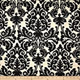 WAVERLY Sun N Shade Essence Fabric, Onyx