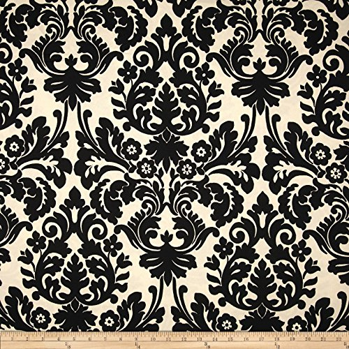 Waverly Sun N Shade Essence Onyx, Fabric by the Yard