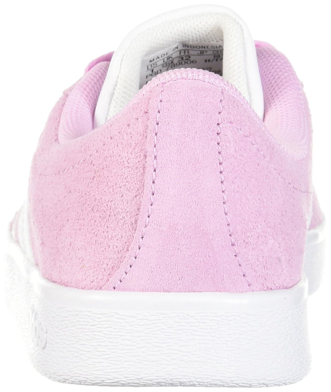 pink white. Adidas Pink/White/White VL Court 2.0 K B01N1ZSLNA Kids Frost Pink/White /White 89e541f Pink White