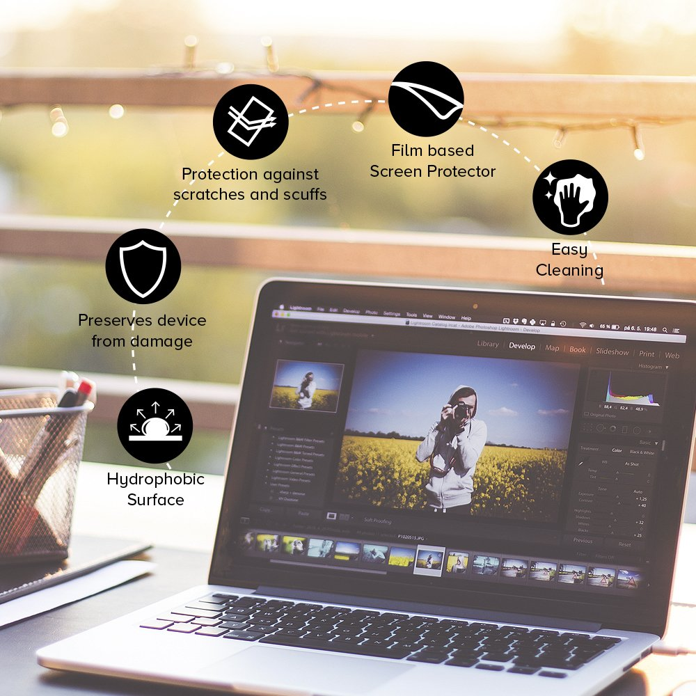 Celicious Impact Anti-Shock Shatterproof Screen Protector Film Compatible with HP Pavilion x360 15 BK103NA