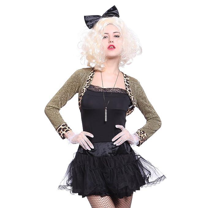 Patrones de costura para Madonna Wild 80s disfraz para mujer 1980s ...