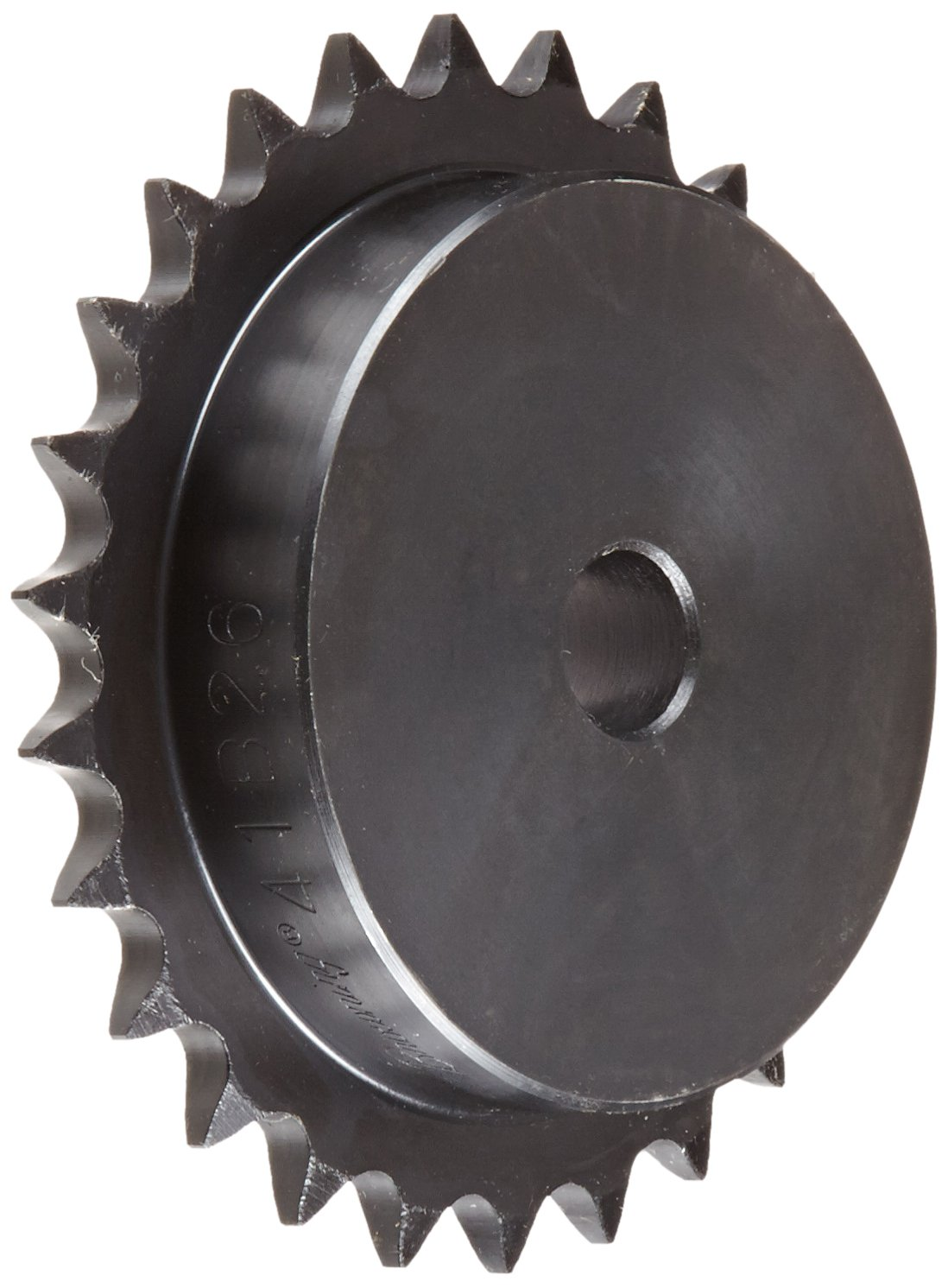 5//8 Stocked Bore Steel Single Strand 26 Teeth 5//8 Stocked Bore Regal Browning 41B26 Minimum Bore Roller Chain Sprocket