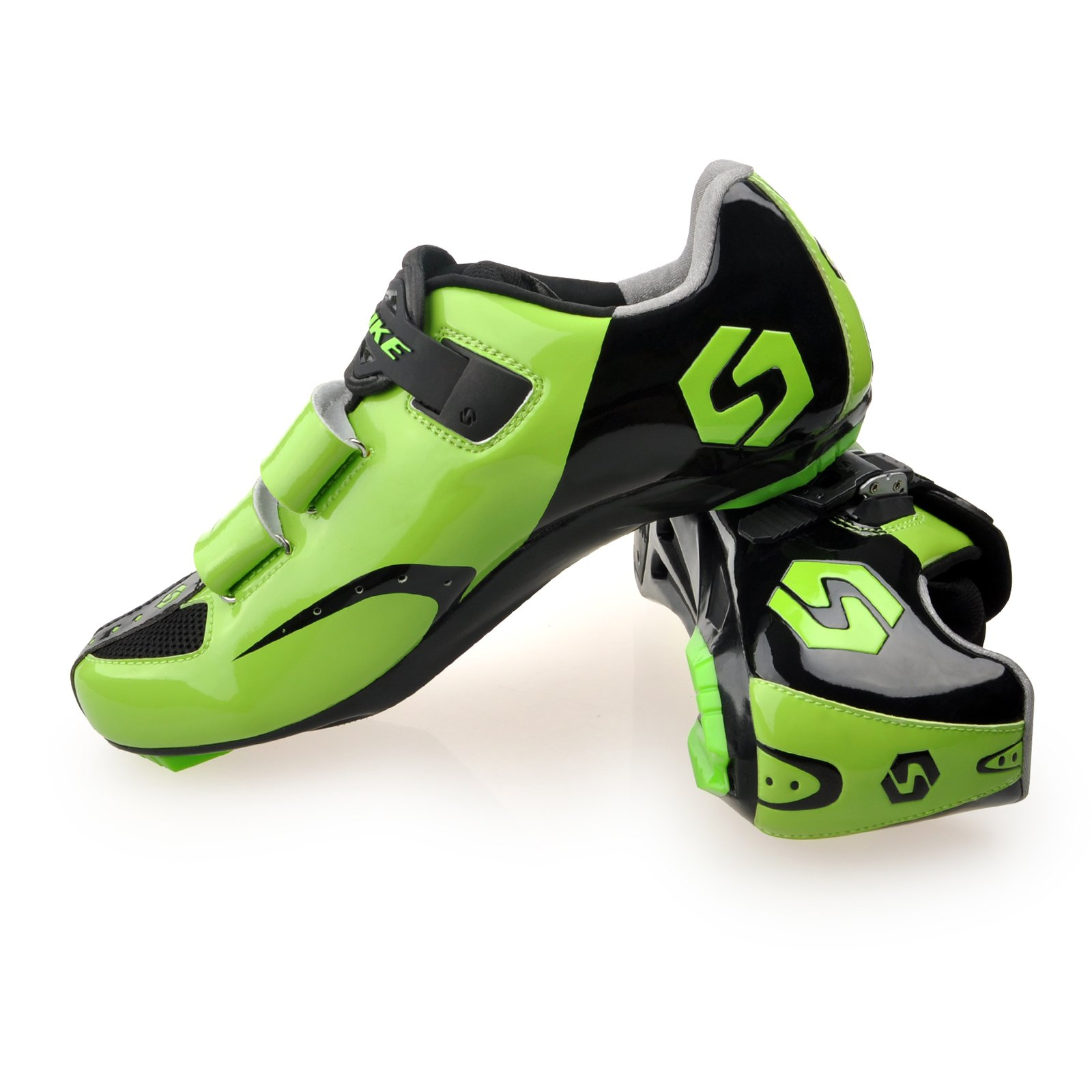 Smartodoors MTB Road Cycling Shoes with Carbon Soles SD002 (US11/EU44/Ft27.5cm)