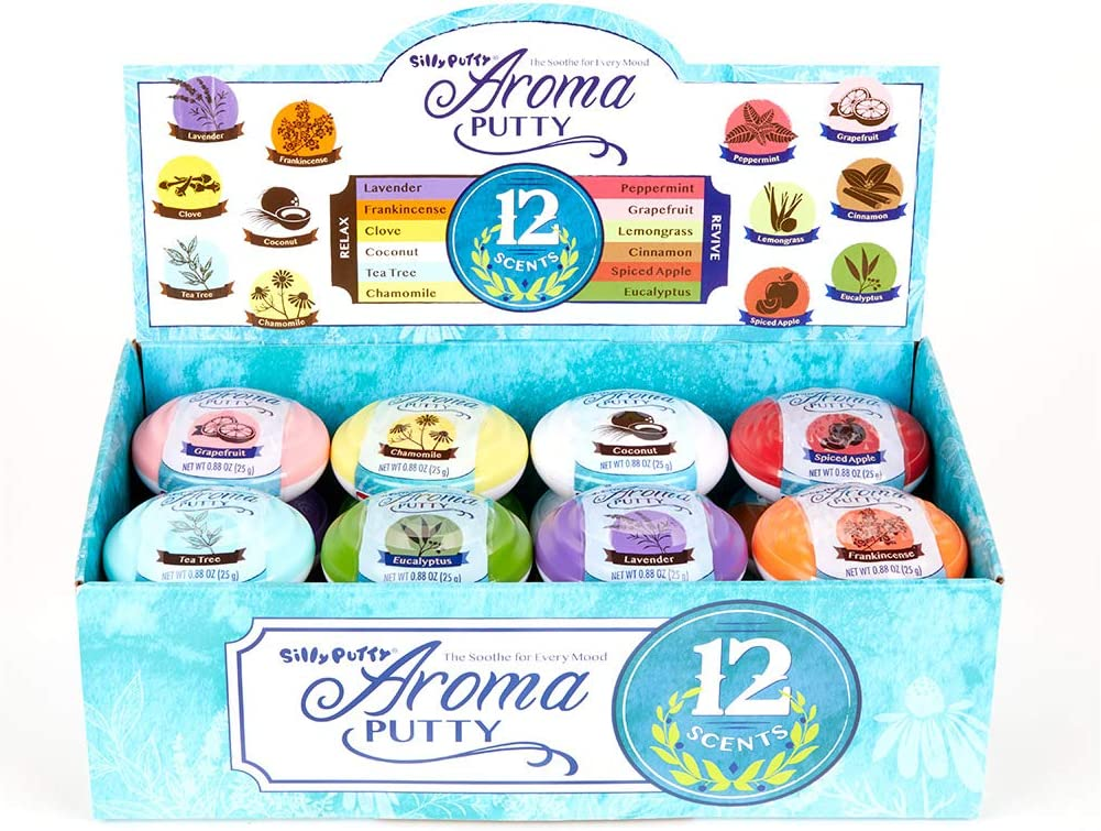 Crayola Aromatherapy Silly Putty, Relaxation Gifts, Gift for Her, 24ct