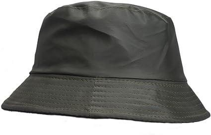 Sombrero Impermeable Mate para la Lluvia, Gorro con Interior de ...