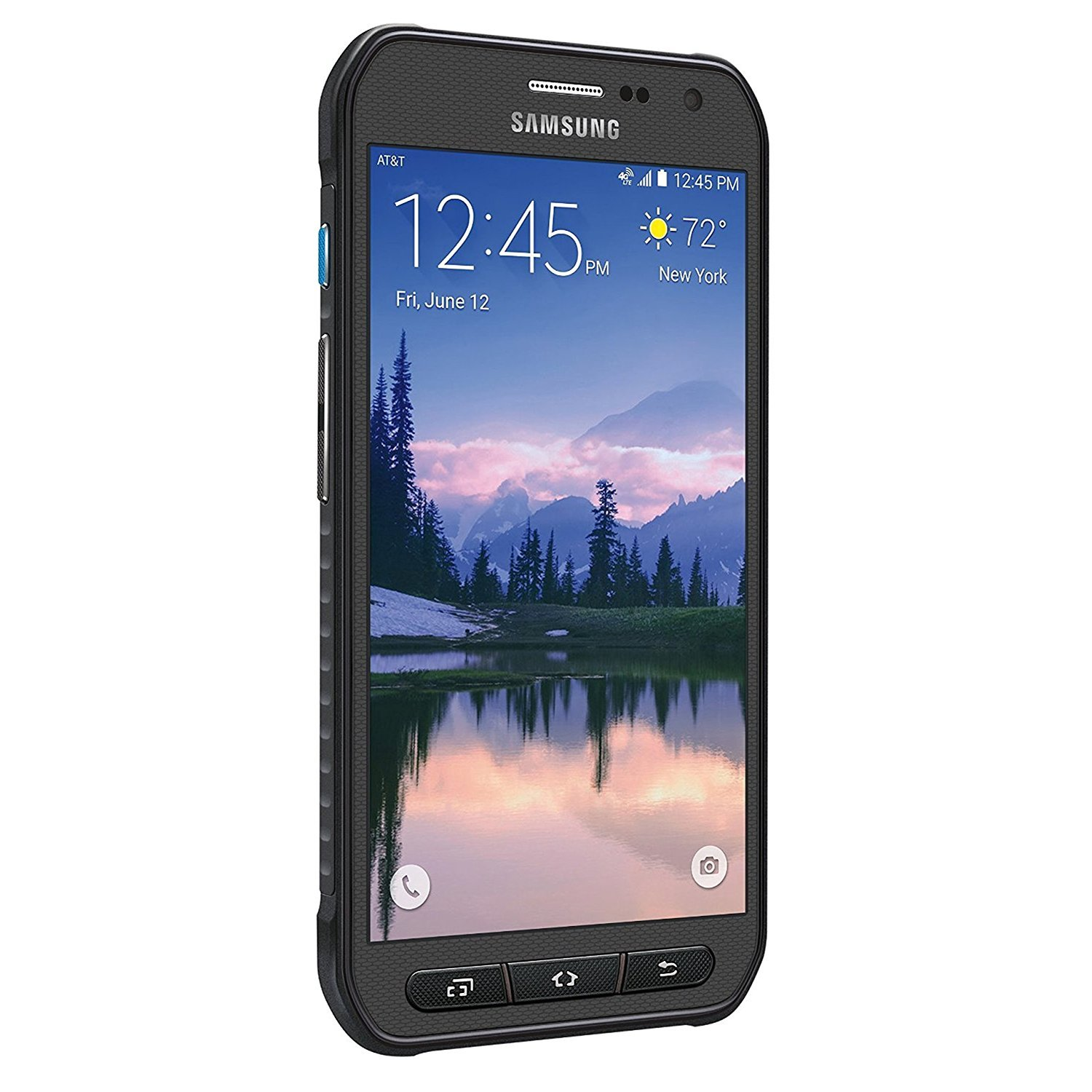 Samsung Galaxy S6 Active G890A 32GB Unlocked GSM 4G LTE Octa-Core Smartphone w/ 16MP Camera - Gray (Renewed)
