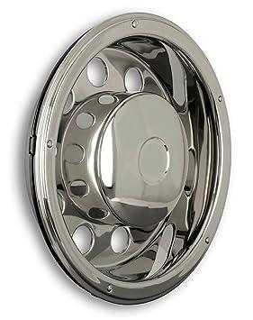 Tapacubos 22,5 pulgadas – Llanta – Revestimiento – para camiones (de acero inoxidable