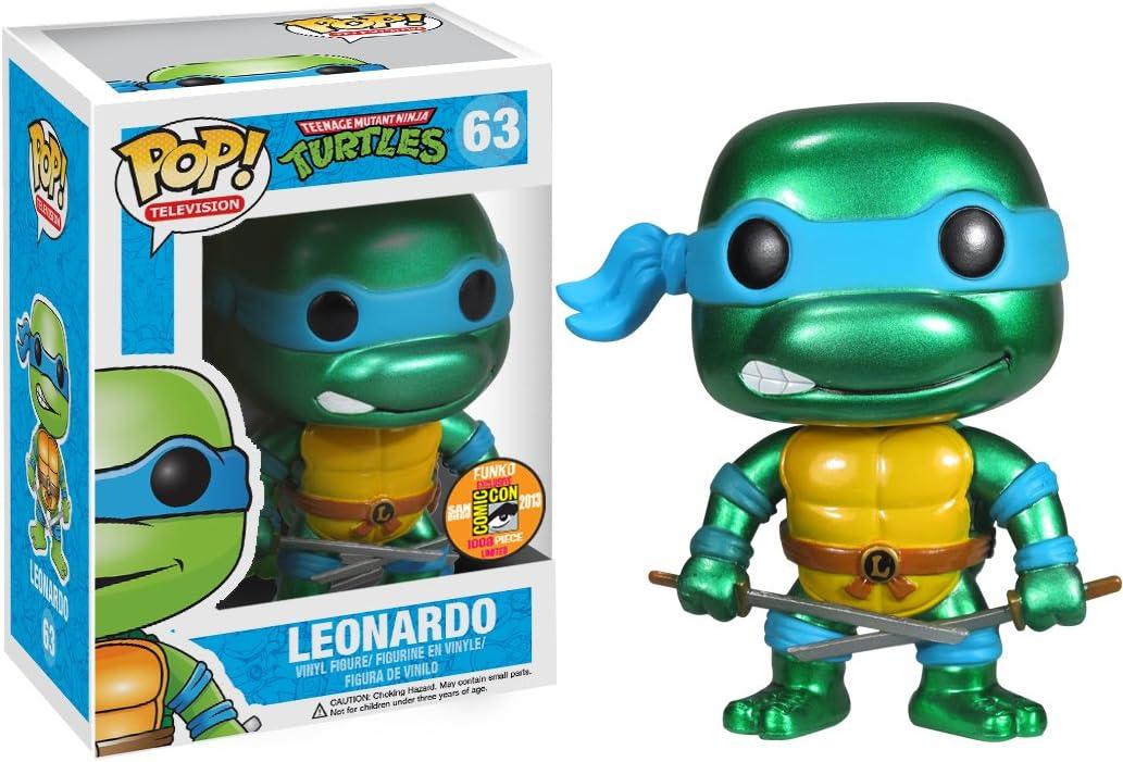 Tmnt Leonardo Figura De Vinilo Funko Pop
