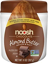 NOOSH Chocolate Almond Butter 11 oz - Vegan, Gluten Free, Kosher, NON GMO - Naturally Sourced Ingredients