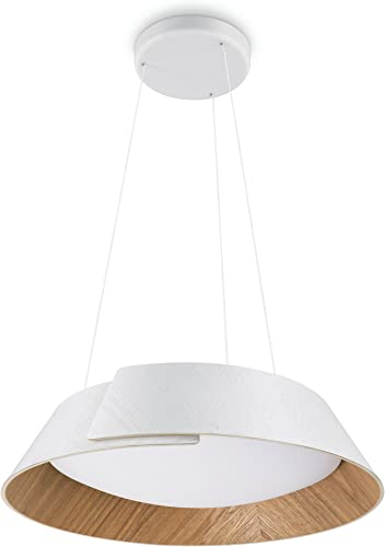 Philips Lighting Philips InStyle Nonagon Lámpara colgante, LED integrado, consume 10 W, luz blanca cálida, regulable, 15 W