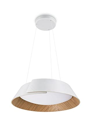 Philips InStyle Nonagon-Lámpara Colgante, LED Integrado, Consume 10 W, luz Blanca cálida, Regulable, 15