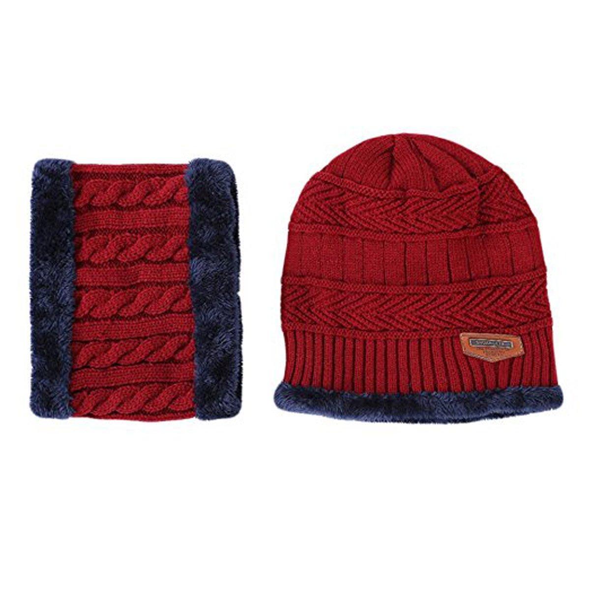 LSCY - Ensemble bonnet, écharpe et gants - Homme