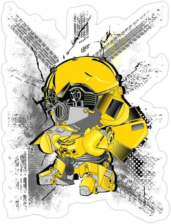 Di Cut Decal Bumblebee Decal HomeLaptopComputerTruckCar Bumper Sticker Decal