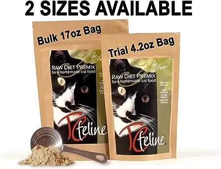 raw cat food diet recipe taurine b