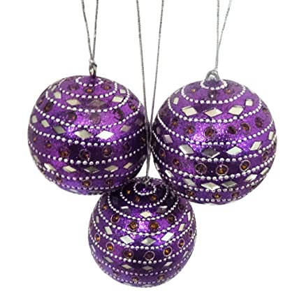 Decorative Christmas Balls Indian Vintage Style Tree Topper Antique Home Decor Wall Hanging Ornaments Ball