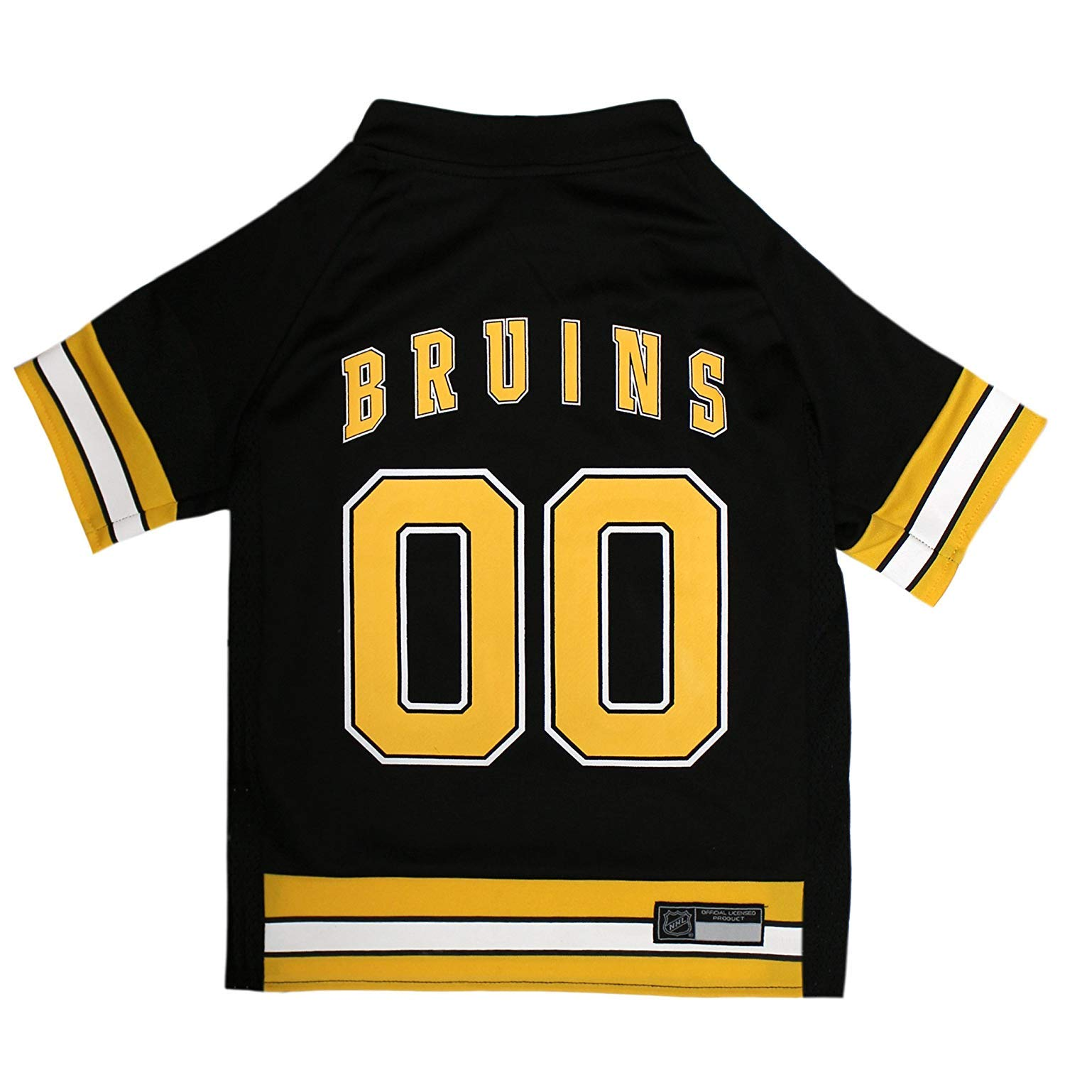 NHL Boston Bruins Jersey for Dogs & Cats, X-Small. - Let Your Pet Be on