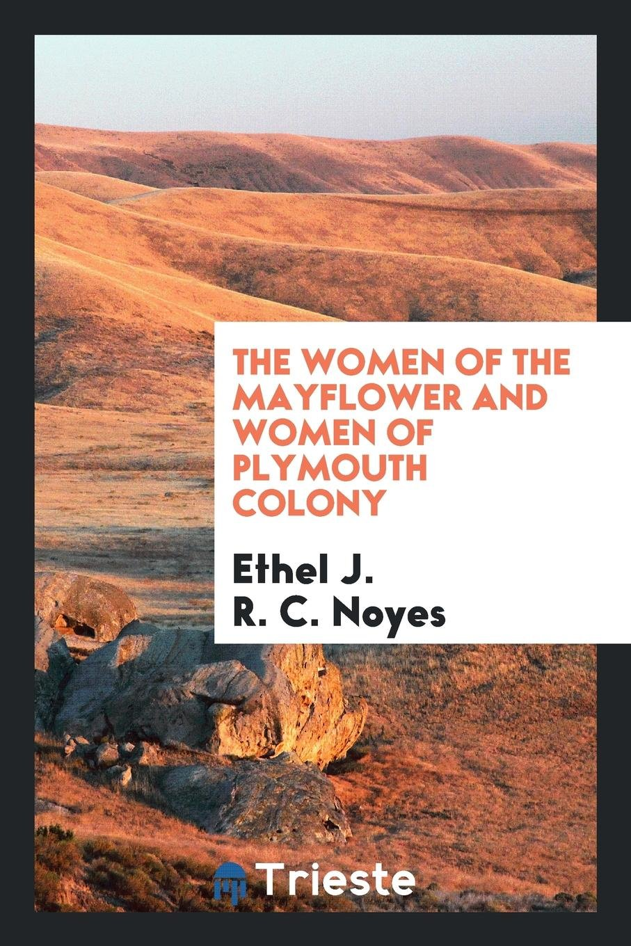 The women of the Mayflower and women of Plymouth colony: Ethel J. R. C.  Noyes: 9790649283537: Amazon.com: Books