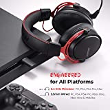 Mpow 2.4G Wireless Gaming Headset with Double
