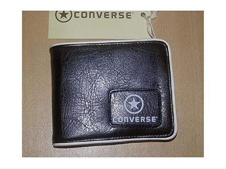 Converse Star - Cartera para Hombre Negro Negro Normal