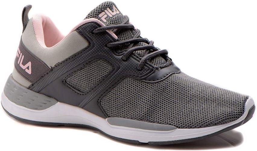 Fila Tesla - Zapatillas de Running para Mujer, Color Gris, Talla ...