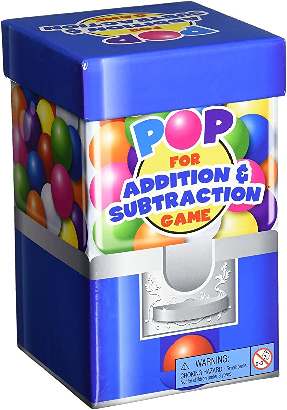 Learning Resources Pop For Addition & Subtraction Math Game