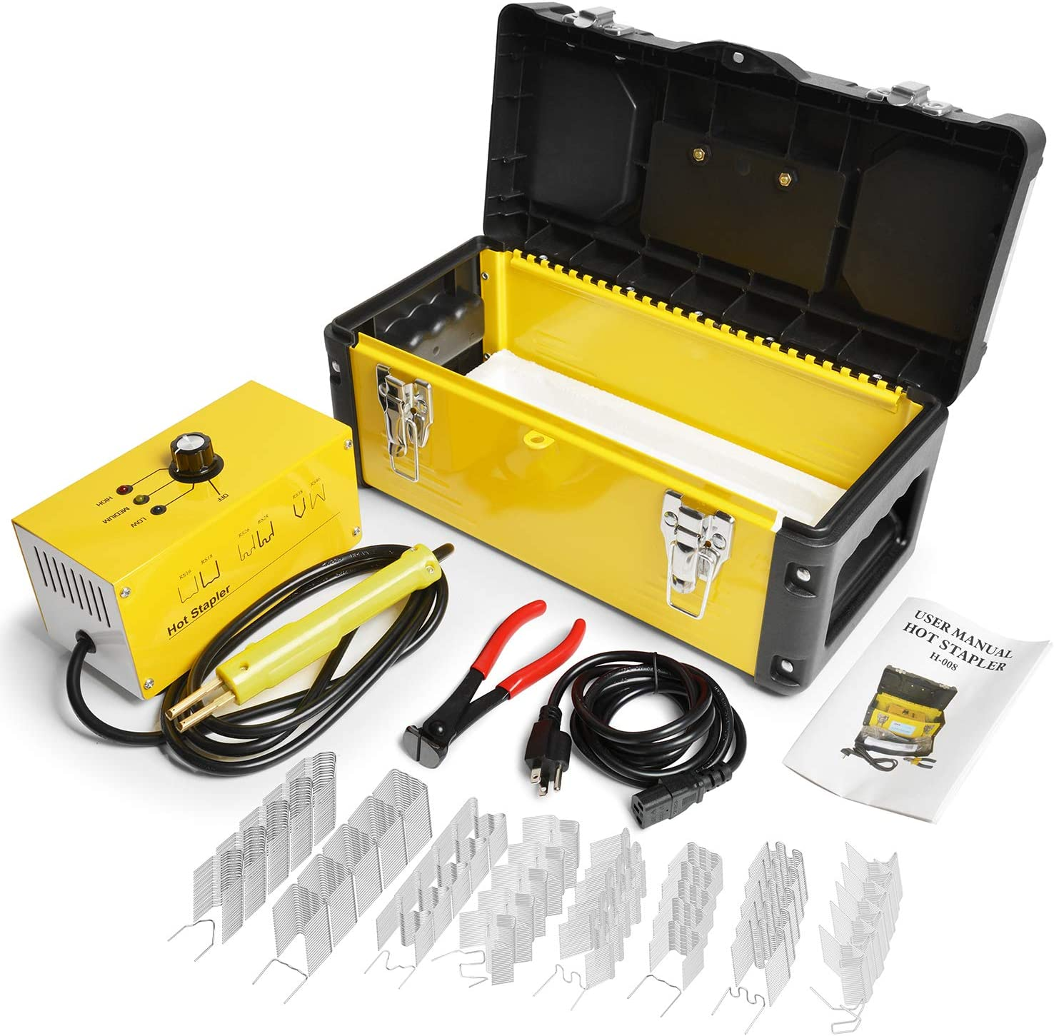Details about  /Hot Staples Welding Wire Staples Welder Stapler tool For Car Welder Stapler