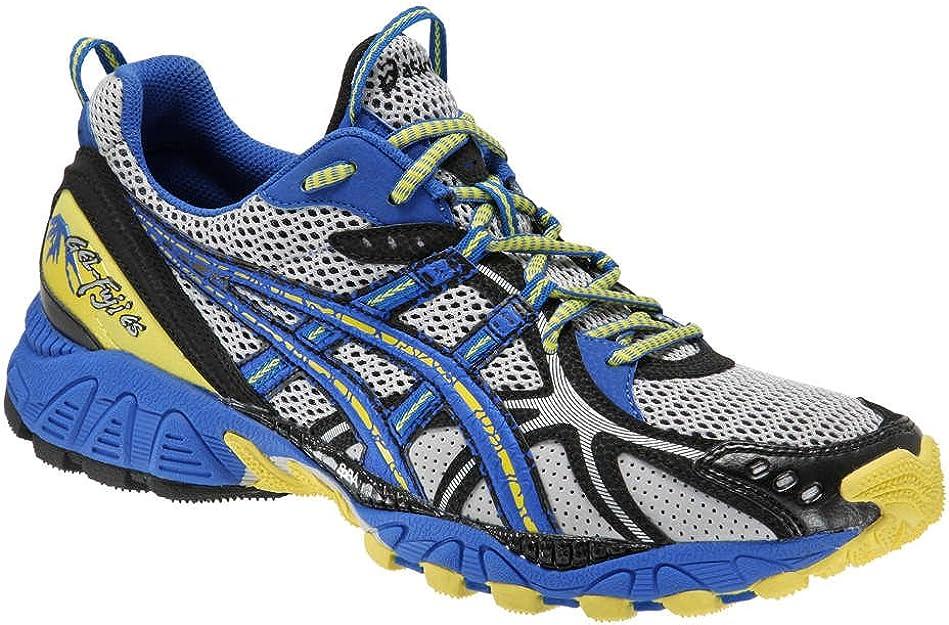 el último Incomodidad sirena  ASICS Gel-Fuji ES Trail Running Shoes - 8.5 Blue: Amazon.co.uk: Shoes & Bags