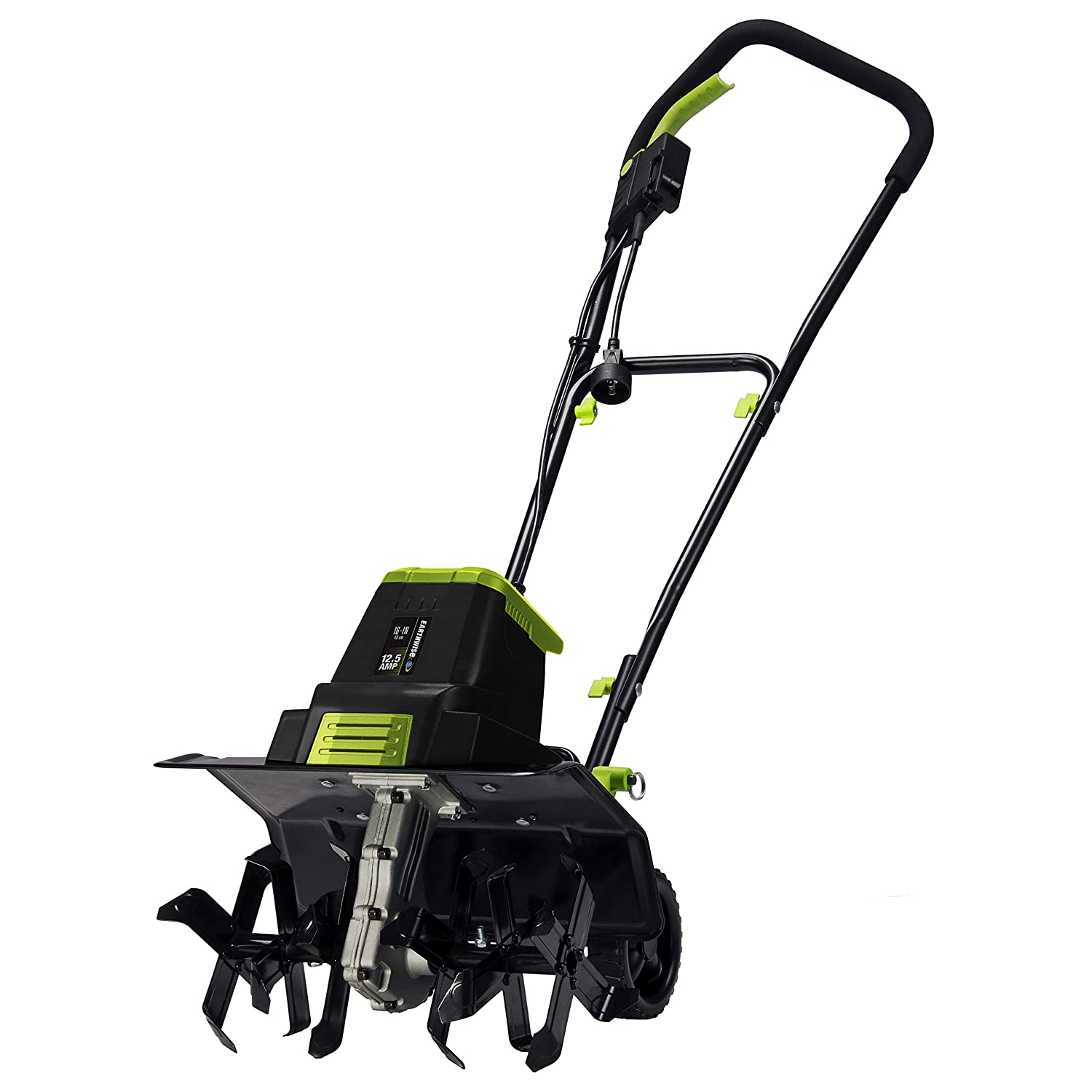 Earthwise TC70125 12.5-Amp 16-Inch Corded Tiller/Cultivator, Green
