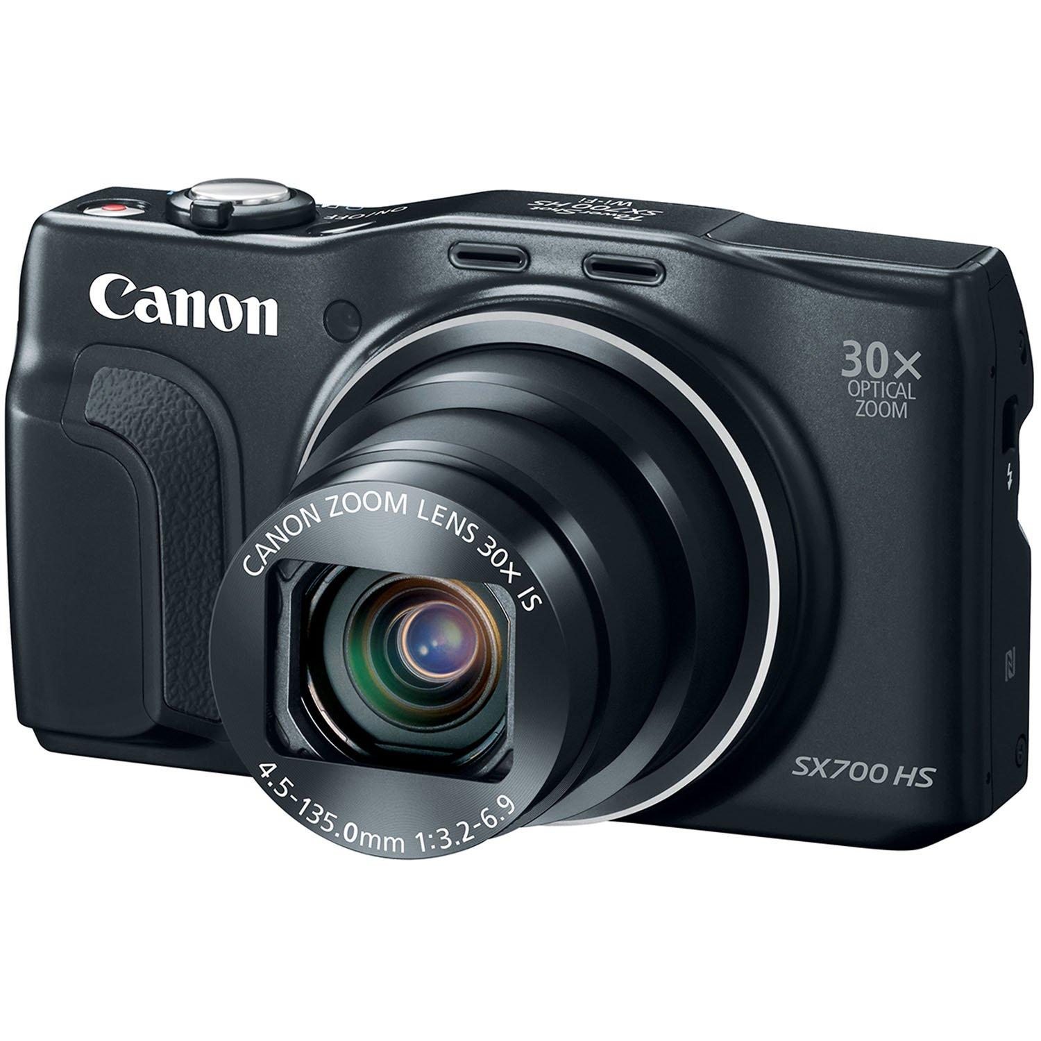 Canon PowerShot SX700 HS Digital Camera - Wi-Fi Enabled (Black) by Canon (Image #4)