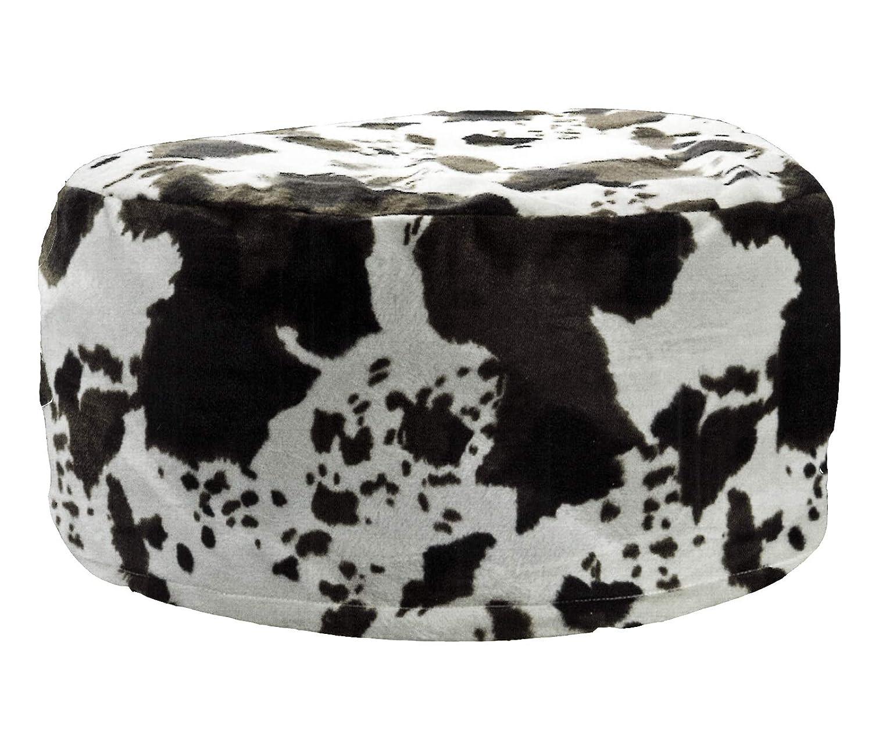 heimtexland® Pouf Vaca Asiento Taburete Hinchable Saco de ...